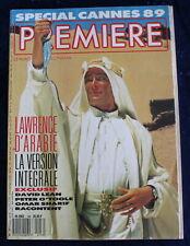 PREMIÈRE CINÉMA + Fiches - Spécial Cannes 89 - N°146 de 1989