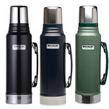 Stanley Clásico bebidas matraz de 1 Litros de Acero Inoxidable Negro Verde 1 L Nuevo Termo