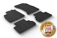 Design Passform Gummimatten Gummi Fußmatten für Audi Q5 und SQ5 (FY) ab 10.2016>