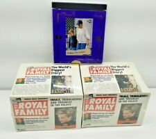 2 box of The Royal Family Trading Cards Box plus 1 Speicial Collector edition