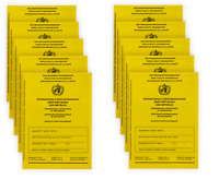 100 Stück: Internationaler Impfausweis Impfpass Impfbuch 100er Set Impfausweise