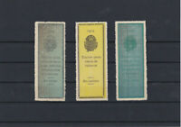 Salvador 1904 large mint never hinged Revenue stamps Ref: R4194