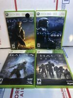 USED (Complete) Lot of 3 Xbox 360 Halo Bundle: 3, 3 ODST, 4, Reach