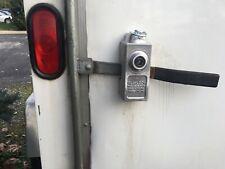 Universal Single Cargo Door Antitheft Lever Lock For Enclosed Utility Trailers