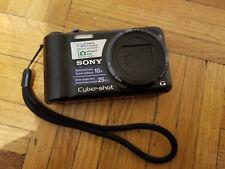 Sony Cyber-shot DSC-H55 14.1MP Digital Camera - Black + Extras
