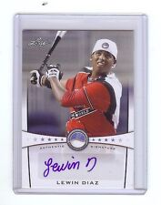 LEWIN DIAZ 2013 Leaf *POWER SHOWCASE*  Baseball Certified AUTOGRAPH RC