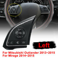 Left Steering Wheel Radio Control Switch Button For Mitsubishi Outlander    !!
