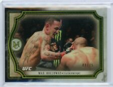 2018 Topps UFC Museum Collection Max Holloway /75
