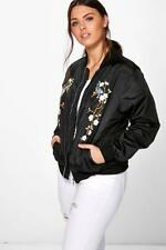 Boohoo Casual Floral Coats & Jackets for Women