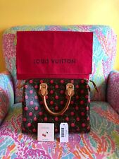 LOUIS VUITTON LV Monogram Murakami Cherry Cerises SPEEDY 25 Leather Hand Bag