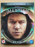 The Martian 2D + 3D Blu-ray 2015 Sci-Fi Movie Remake w/ Slipcover
