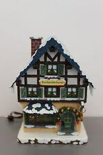 451-400h0006 Hubrig Winterkinder Winterhaus Zuckerbäckerei