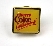Coca-Cola Coke USA Lapel Pin Button Anstecknadel Cherry Coke - Outrageous
