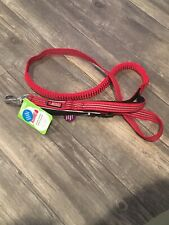 """New listing Kong Comfort Reflective Handle Hands-Free Leash - 6 ft by 1"""" - Red - New!"""
