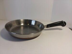 """Revere Ware 1801 10"""" skillet/pan Copper Bottom"""