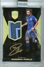 Andrea Pirlo 2018 Panini Eminence Italy P-AP Patch Autograph 4/5