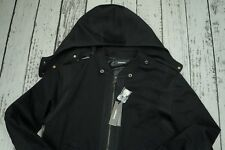 NEW DIESEL D-NEYT MENS JACKET BLACK MEN 100% AUTHENTIC SIZE XXL