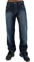 "SOUTHPOLE  MEN'S 4180 RELAXED FIT  BASIC DENIM JEANS SIZE 32""~42"""