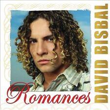 David Bisbal Romances CD New Nuevo sealed