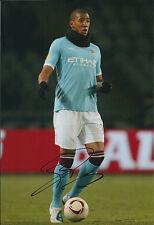Yaya TOURE Signed Autograph 12x8 Photo AFTAL COA Manchester City