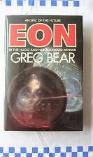 EON by GREG BEAR (1985) EARLY 1st HB SIGNED  BY HUGO WINNER