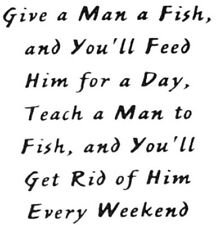 Unmounted Rubber Stamps, Fishing Quotes, Humorous Quotes & Sayings, Men, Dad