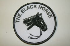 The Black Horse Embroidered IRON/SEW ON Patch   P058- BUY 2 GET 1 FREE!
