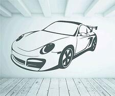 Porsche 911 997 Porker Car Wall Sticker Vinyl Graphic Decal Wall Art Transfer