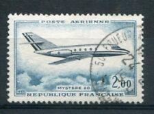 FRANCE 1965 timbre aérien 42 avion Mystère 20, oblitéré