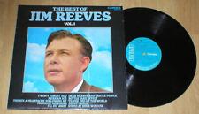 JIM REEVES 33 rpm lp BEST OF VOL. 1 rca U.K.