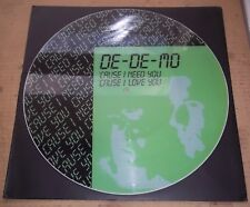 "DE-DE-MO 'Cause I Need You, 'Cause I Love You - Italo Disco 12"" Picture Disc"