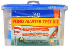 API POND MASTER TEST KIT GOLDFISH KOI TESTKIT POND CARE WATER FISH HEALTH GARDEN