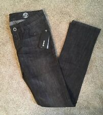 NEW Hurley 81 Women's Skinny Jeans Black Distressed Denim - Size 1 (26 in.) NWT