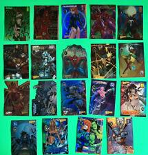 Wizard Magazine Chromium 19 Promo cards Holochrome Refractor Series 4 set lot
