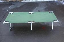 British Army  Surplus Heavy Duty Aluminium Frame Folding Camp Bed GRADE1