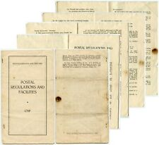 More details for army postal service regulations cmf 12 sides ww2
