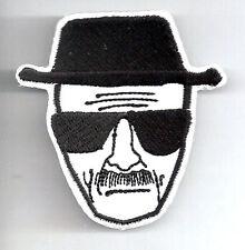 "BREAKING BAD TV Series Walter Head Patch w Hat- 2.5""- FREE S&H (BAPA-002)"