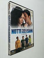 NOTTE PRIMA DEGLI ESAMI DVD - DVD EX NOLEGGIO