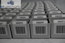 100x Einsatzkiste Lagerkasten Einsatzkasten Kiste Box grau Kunststoff 40x50x45