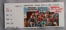 Sept 18th 1994 Dover Downs Split Fire Spark Pug 500 Racing Ticket Stub 9/18/94