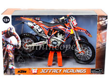 AUTOMAXX 604600 2013 RED BULL KTM 250 SX-F DIRT BIKE 1/12 JEFFREY HERLINGS # 84