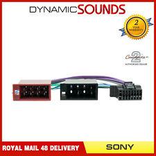 Sony 16 Pin a ISO plomo de alimentación de repuesto CDX-7100 CDX-1000 WX-GT90BT CT21SO02