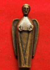 Ancient bronze religious artifact angel