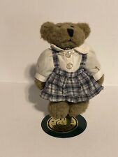 Boyds Bucchioni Bears Plush Megan Headmaster Bear Extraordinaire With Stand.