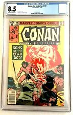 CONAN THE BARBARIAN #109  CGC 8.5 - John Buscema -  1980 - Newsstand Edition!