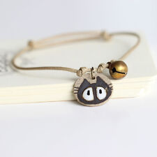 BRACCIALETTO REGOLABILE GATTINO CERAMICA - CERAMIC CAT BRACELET RESIZABLE