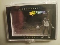 2011 Upper Deck Julius Erving Autograph Card