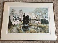 Jeremy King. Titled Islington Mill (137/225) Framed Limited Edition Litho