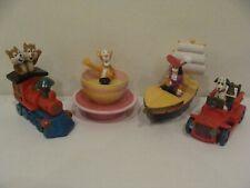 4 x McDonald's Happy Meal Toys - EURO DISNEY - COMPLET (4 pièces) - 1992 - (3)
