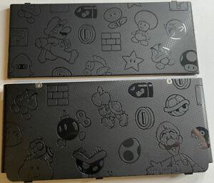 New Nintendo 3DS Super Mario Embossed Black Friday Kisekae Face Cover Plates